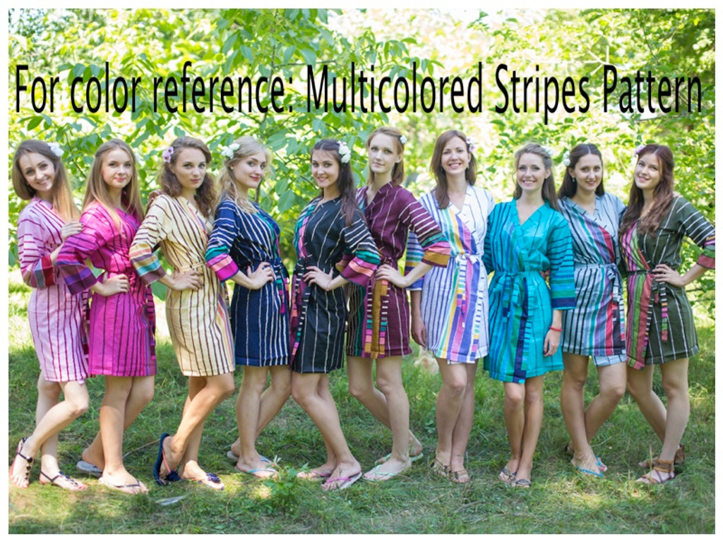 Multicolored Stripes pattern
