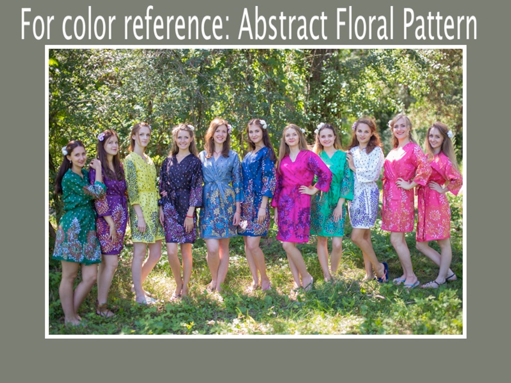 Abstract Florals pattern