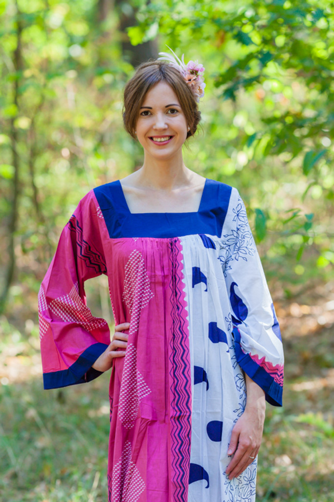 """""""Fire Maiden"""" kaftan in Perfectly Paisley pattern"""