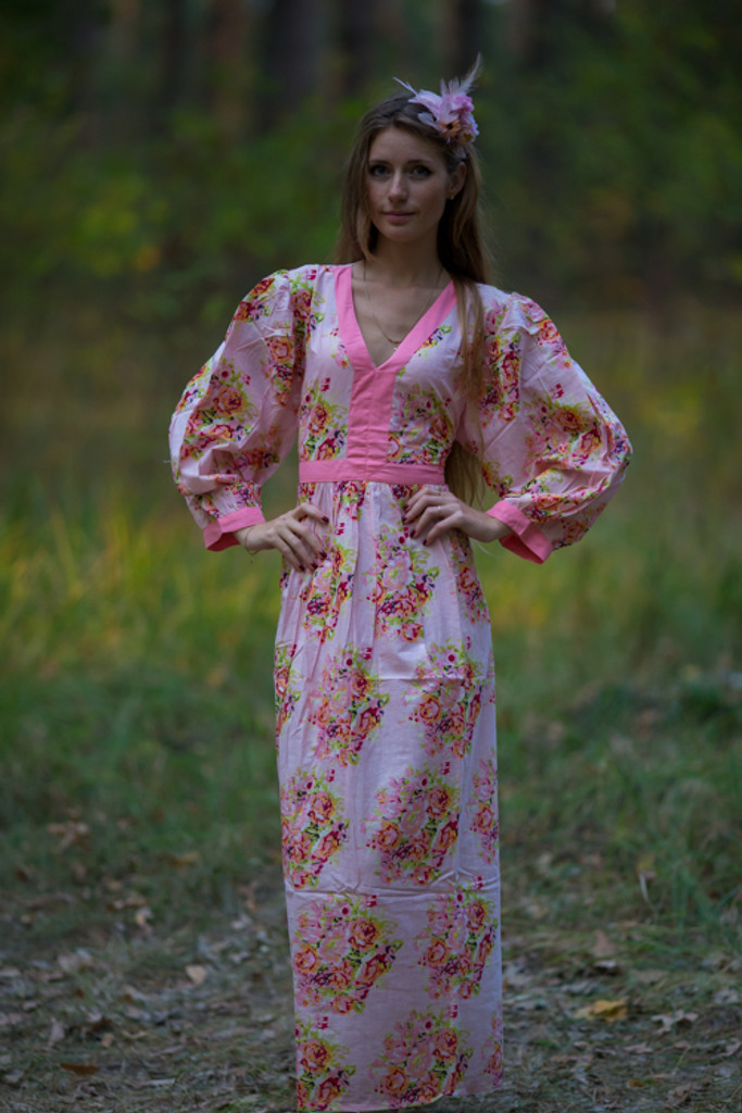 """""""My Peasant Dress"""" in Floral Posy pattern"""