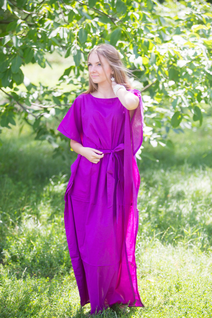 """""""Divinely Simple"""" kaftan in Plain and Simple pattern"""