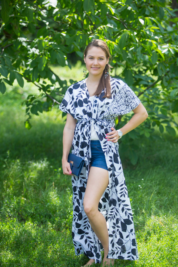 """Beach Days"" kaftan in Classic pattern"