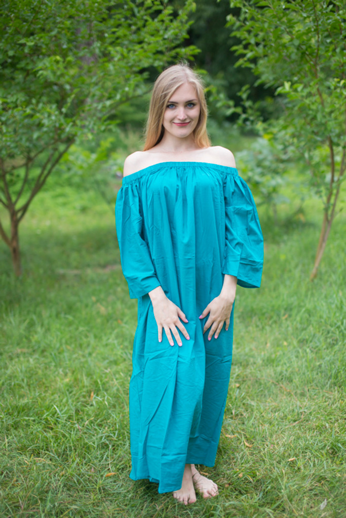 """""""Serene Strapless"""" kaftan in Floral Plain and Simple pattern"""