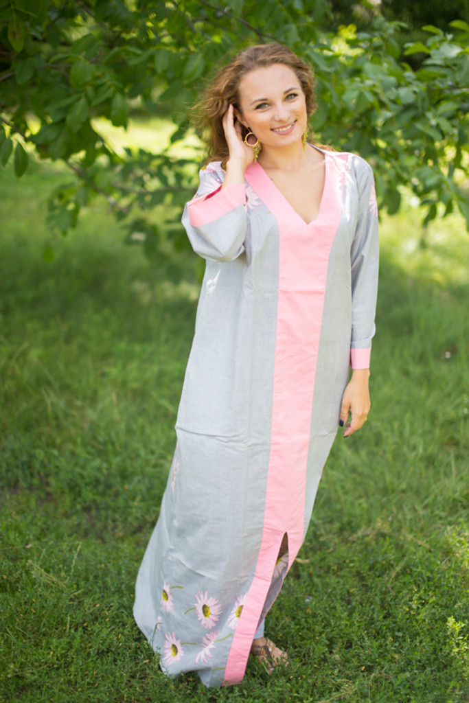 """""""The Glow Within"""" kaftan in Falling Daisies pattern"""