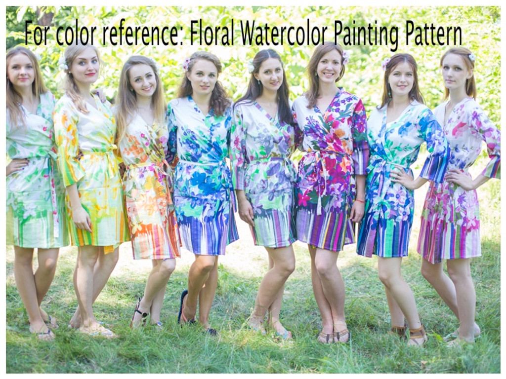 Floral Watercolor Painting pattern