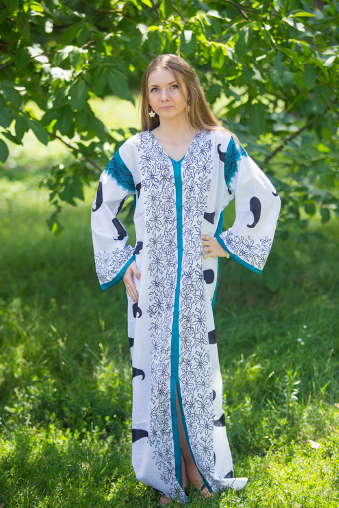 """""""The Glow Within"""" kaftan in Perfectly Paisley pattern"""