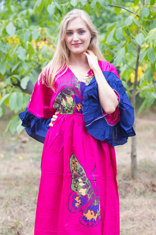 """Pretty Princess"" kaftan in Big Butterfly pattern"
