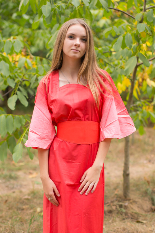 """Beauty, Belt and Beyond"" kaftan in Ombre TieDye pattern"