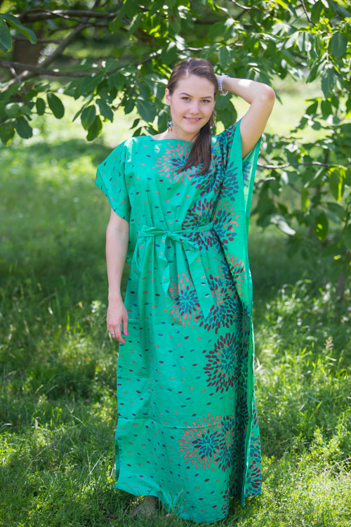 """Divinely Simple"" kaftan in Abstract Floral pattern"