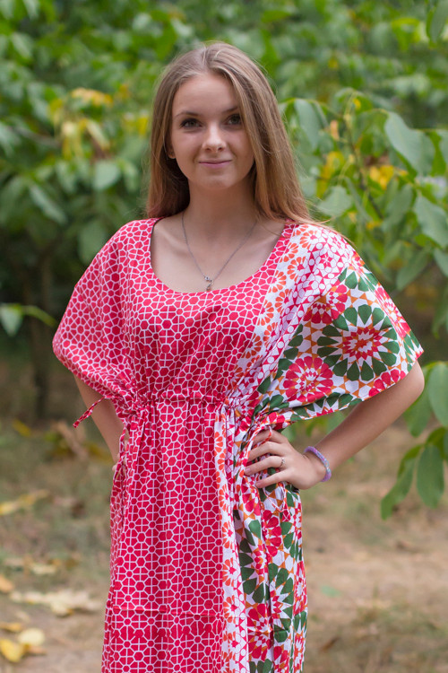 """""""Side Strings Sweet"""" kaftan in Round and Round pattern"""