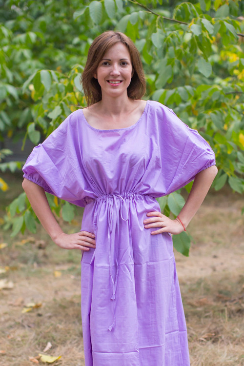 """""""Cut-out Cute"""" kaftan in Plain and Simple pattern"""