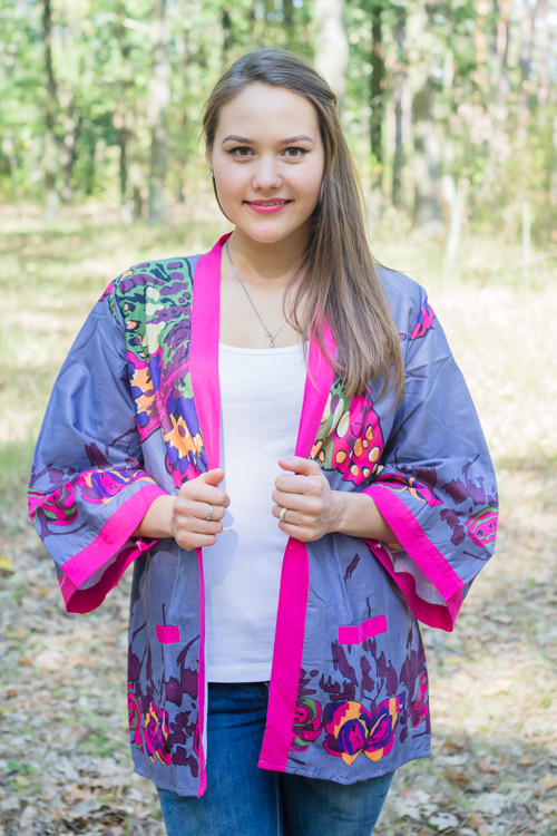 """Street Style"" Kimono jacket in Big Butterfly pattern"