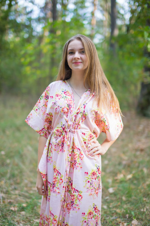 """Timeless"" kaftan in Floral Posy pattern"
