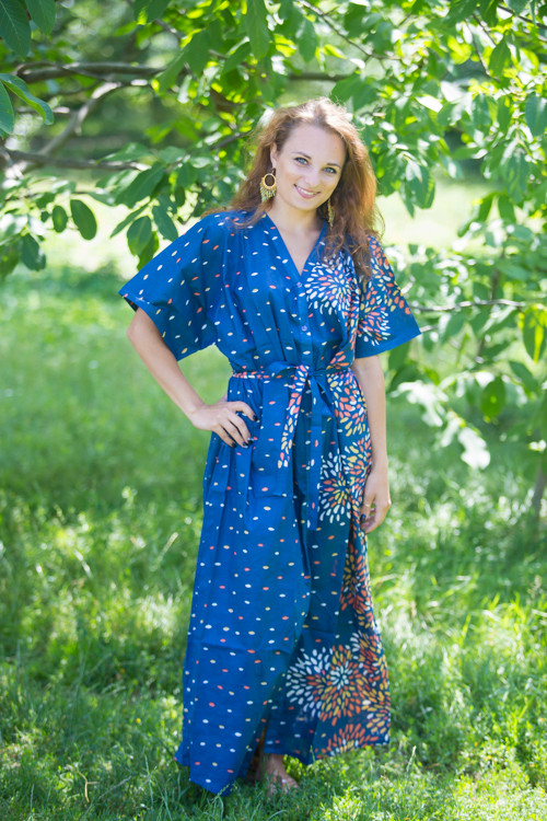 """""""Best of both the worlds"""" kaftan in Abstract Floral pattern"""