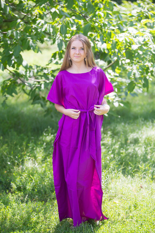 """Divinely Simple"" kaftan in Plain and Simple pattern"