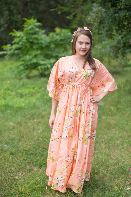 """I wanna Fly"" kaftan in Flower Rain pattern"