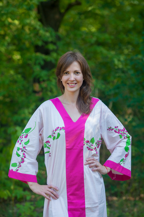 """""""The Glow Within"""" kaftan in Climbing Vines pattern"""