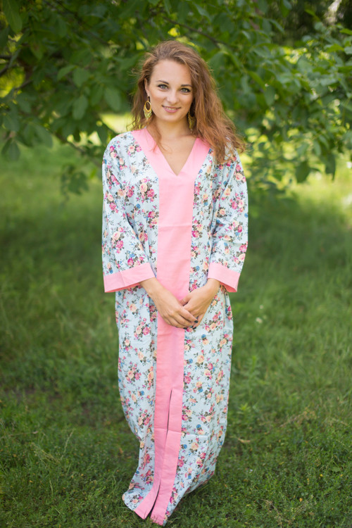 """""""The Glow Within"""" kaftan in Vintage Chic Floral pattern"""