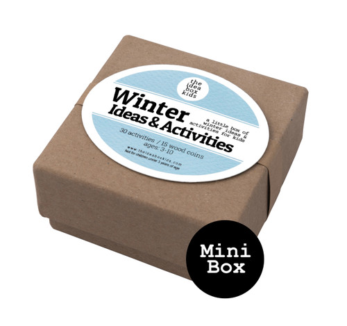 Mini Box:  Winter Activities for Kids