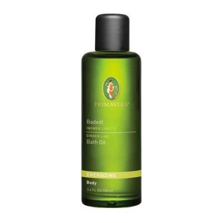 Energizing Bath Oil - Ginger Lime