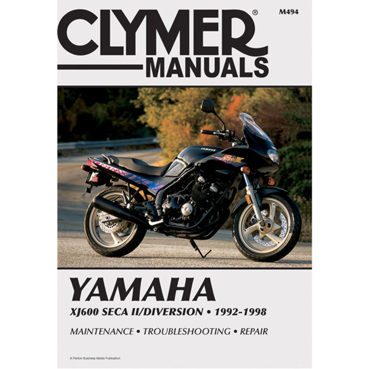 clymer m494 service shop repair manual yamaha xj600 seca ii 92 98 rh speedaddicts com Yamaha XJ600 Parts Moto Yamaha XJ 600