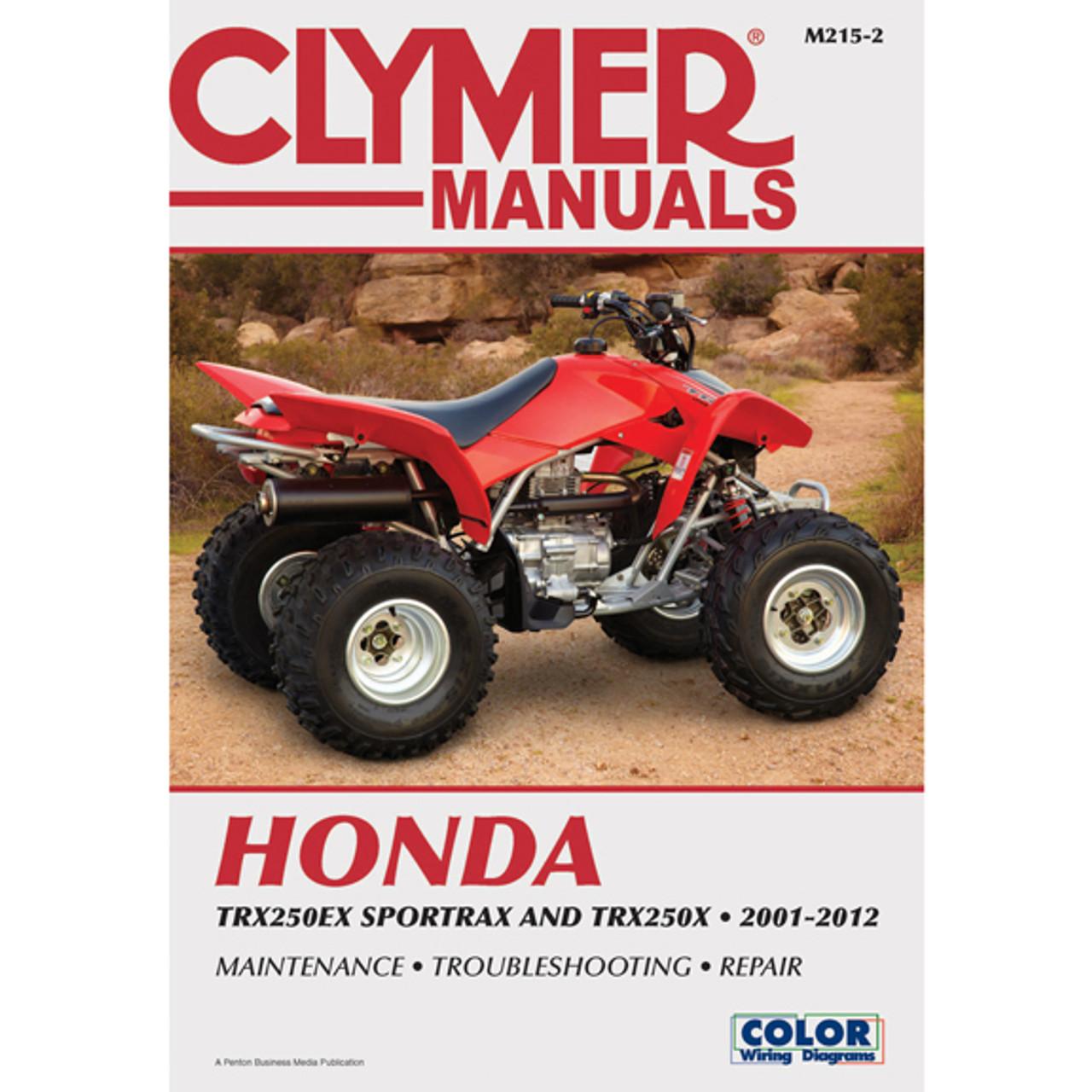clymer m215 2 service shop repair manual honda trx250ex sportrax rh speedaddicts com 1987 honda trx250x service manual free download trx250ex service manual pdf