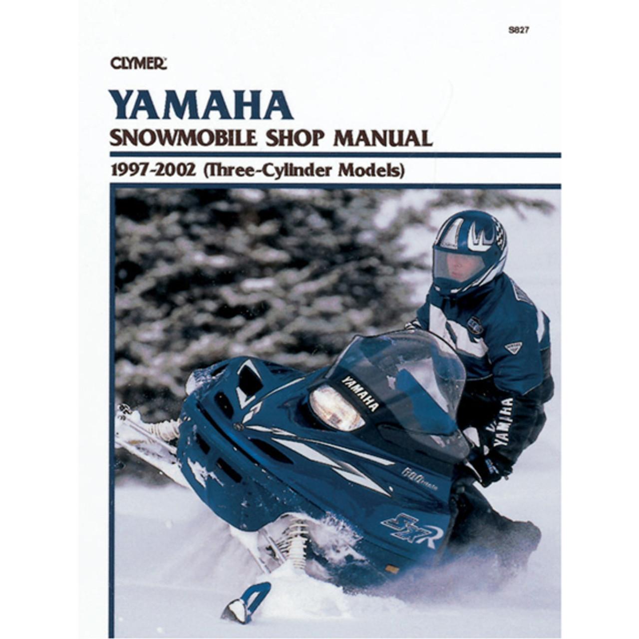 clymer s827 service shop repair manual yamaha snowmobile 97 02 rh speedaddicts com Polaris Classic 600 Snowmobile Polaris Snowmobile Parts Diagrams