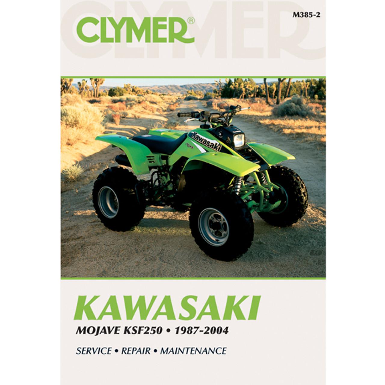 clymer m385 2 service shop repair manual kawasaki mojave ksf250 1987 rh speedaddicts com  kawasaki z900 manuel