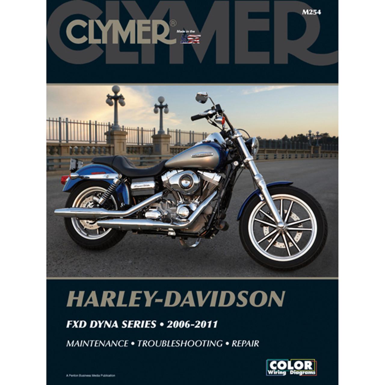 clymer m254 service shop repair manual harley davidson fxd dyna rh speedaddicts com 2009 Harley FXDB 2009 Harley Street Bob
