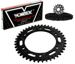 Vortex CK2225 Chain and Sprocket Kit GFRA HON CBR600F3 97-98 (1D,ALU)