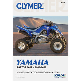 Clymer M290 Service Shop Repair Manual Raptor 700R 2006-2009