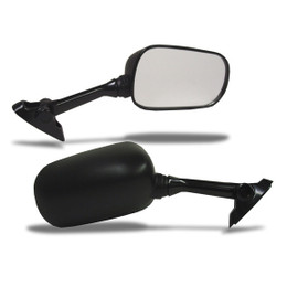 EMGO OEM Replacement Mirror for 01-03 Suzuki GSXR600/SV1000 Left Side Black