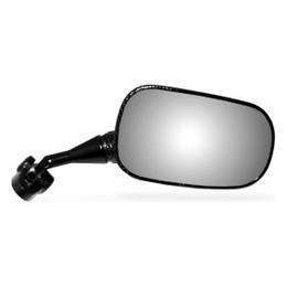 EMGO OEM Replacement Mirror for 00-02 Honda CBR929RR/954RR Left Side Black
