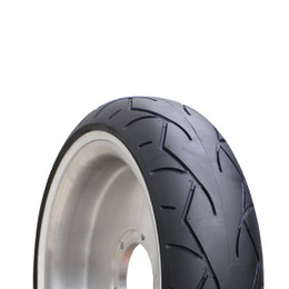 Vee Rubber VRM302 White Wall Rear Tire 180/60 B16 TL