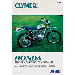Clymer M315 Service Shop Repair Manual Honda OHC Sngls 100-350cc 69-82