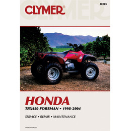 Clymer M205 Service Shop Repair Manual Honda TRX450 Foreman 1998-2004