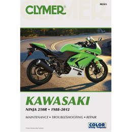 Clymer M241 Service Shop Repair Manual for NINJA 250R 88-12