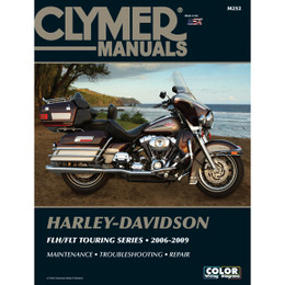 Clymer M252 Service Shop Repair Manual Harley FLH / FLT Touring Series 06-09