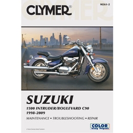 Clymer M261-2 Service Shop Repair Manual Suz 1500 Intruder / Boulevard C90 98-09