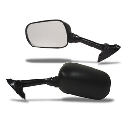 EMGO OEM Replacement Mirror for 01-03 Suzuki GSXR600/SV1000 Right Side Black