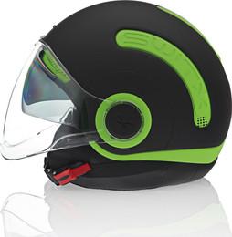 Nexx SX10 Neon Green Helmet