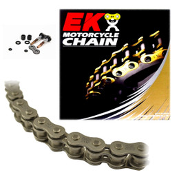 EK 520SRX2 Sport Race QX-Ring Motorcycle Chain (Screw Master)