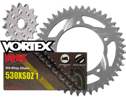 RK Vortex O-Ring Alu QA Chain and Sprocket Kit for SUZ GSX-R1100 93-98