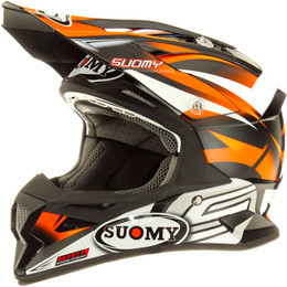 Suomy Carbon Alpha Bike Orange Helmet