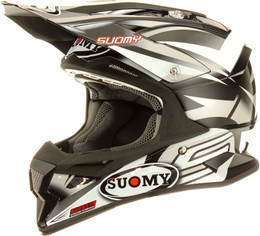 Suomy Carbon Alpha Bike Grey Helmet