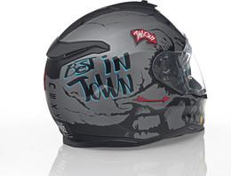 Nexx SX100 Big Shot Grey Helmet