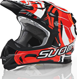 Suomy MX Jump Vortex Red Helmet