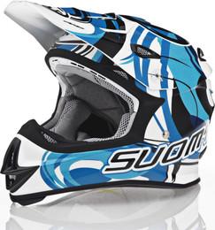 Suomy MX Jump Vortex Blue Helmet