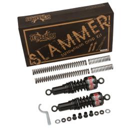 Burly B28-1003B Black Slammer Kit Harley Davidson Dyna 06-11 (B28-1003B)