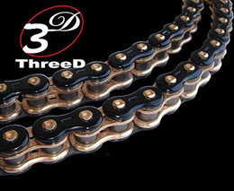 EK 3D GP RIVET MASTERLINK 520 (GOLD) (520GP/3D/G-MLJ)